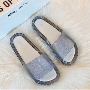 Melissa Beach slide sandals